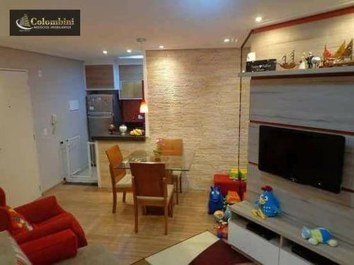 Imagem 1 de 13 de Apartamento Com 2 Dormitórios À Venda, 50 M² Por R$ 245.000,00 - São João Clímaco - São Paulo/sp - Ap0424