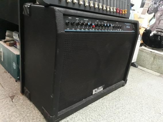 Amplificador Roller Rg 80 Watts Reverb Gtia Envío Tarjeta!