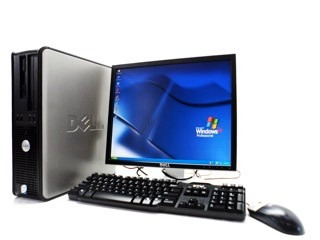 Dell Optiplex Intel Core 2 Duo + Monitor Dell 17 + Wifi