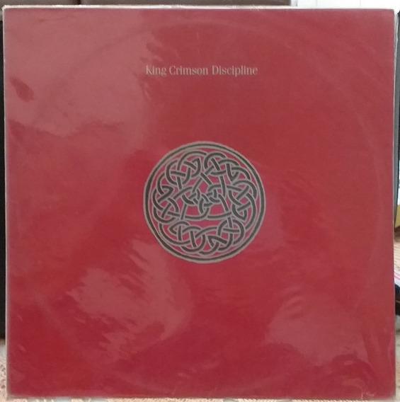 Lp King Crimson - Discipline (1982)