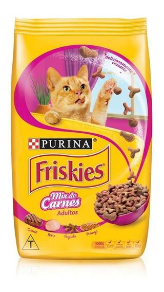 Purina Friskies Racao Seca Gatos Adult Mix De Carnes 3kg