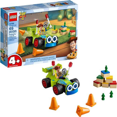 Lego Toystory 4 Wudy En Su Carrito 10766 Original