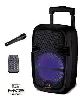 Bafle Portátil Daewoo Dw-s2003 Blast 12 Bluetooth Usb Fm Con Mic