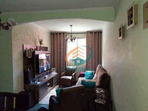Imagem 1 de 15 de Apartamento Com 3 Dormitórios À Venda, 66 M² Por R$ 320.000,00 - Vila Formosa - São Paulo/sp - Ap2508