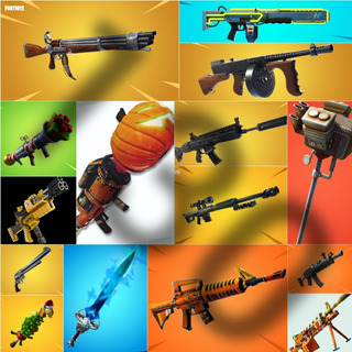 Fortnite Salvar El Mundo: Armas Nivel 130