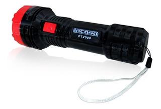 Lanterna Manual Pt2000 Led - Recarregavel - Bivolt - Incasa