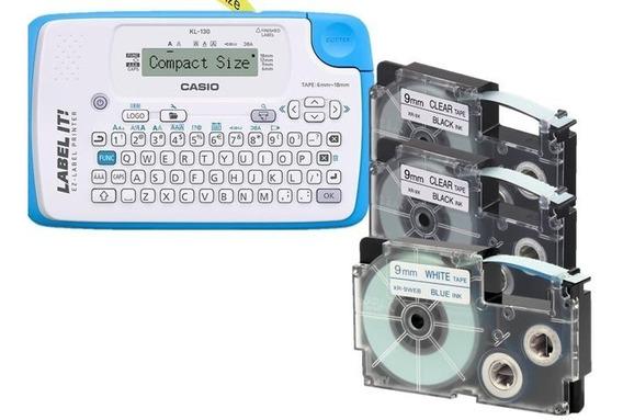 Paquete 3 Cintas Xr-9mm + Rotulador Casio Kl-130