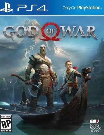God Of War Ps4 Digital Original Psn Vitalício