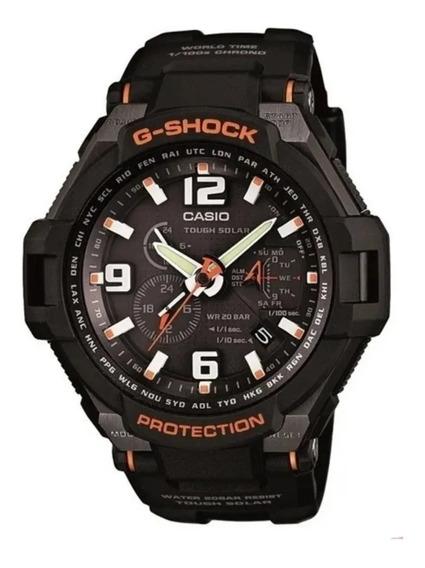 Cassio G-schok G-1400-1ad Toughsolar Semi Novo 100% Original