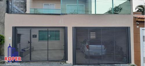 Excelente Sobrado De 240 M² Com Terreno De 8 X 30 Metros À Venda Na Vila Santa Isabel, São Paulo. - Ca00266 - 69351701
