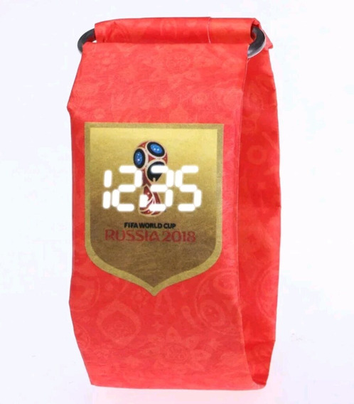 Reloj Led Impermeable De Papel Encerado Varios Diseños