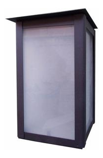 Farol Moderno Exterior 1 Luz Oferta Especial 2000m