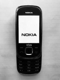 Celular Coleção Nokia 7230 1-c Semi Novo Sem Bateria