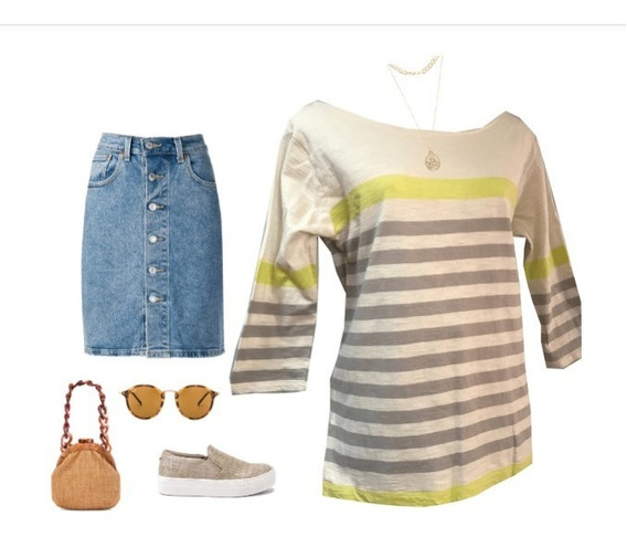 Lilis Doat By Anthropologie, Genial Playera Casual.