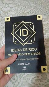 Livro Ideias De Rico Milionário Sem Erros