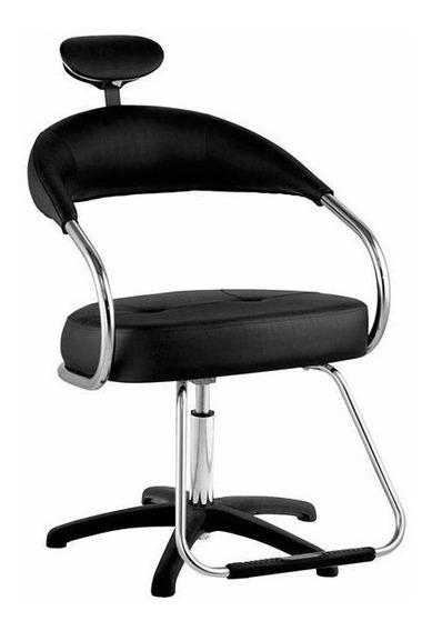 Cadeira Rosa Para Corte De Cabelo, Maquiagem! Com Garantia