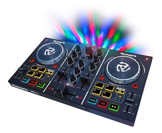 Numark Dj Party Mix Controlador Dj Consola Mixer Con Luces