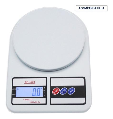 Balança De Precisão Digital Cozinha 10kg Pronta Entrega