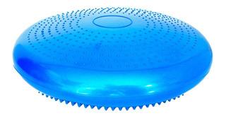 Disco De Equilíbrio Flexível Azul Com Bomba De Ar Acte Sport