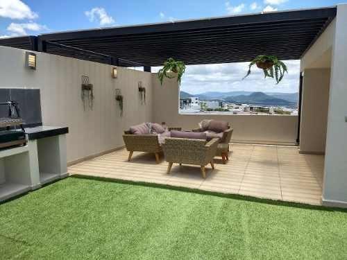 Departamentos Con Roof Garden En Cluster Con Alberca $3,980,000