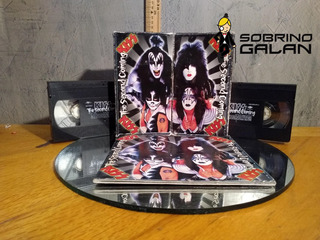 Vhs Doble Más Libro Documental Kiss Second Coming