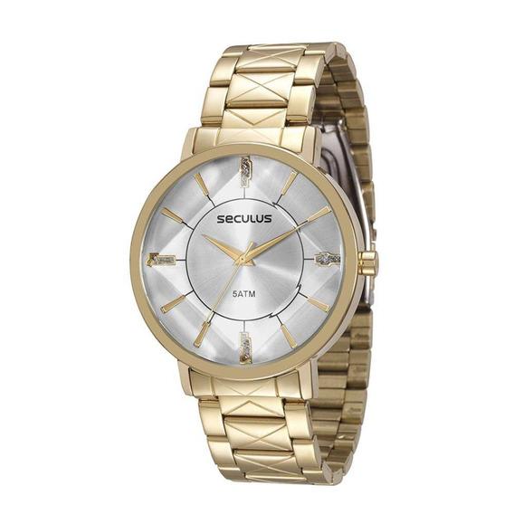 Relógio Feminino Seculus Analógico 23580lpsvds1