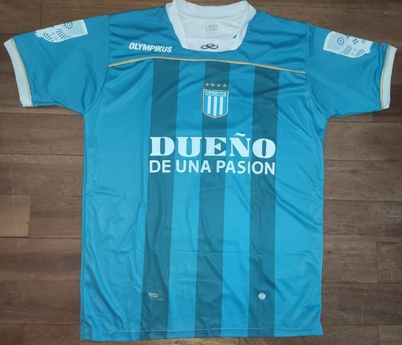 Camiseta Racing Olympikus Celeste 2011 Copa Argentina #9