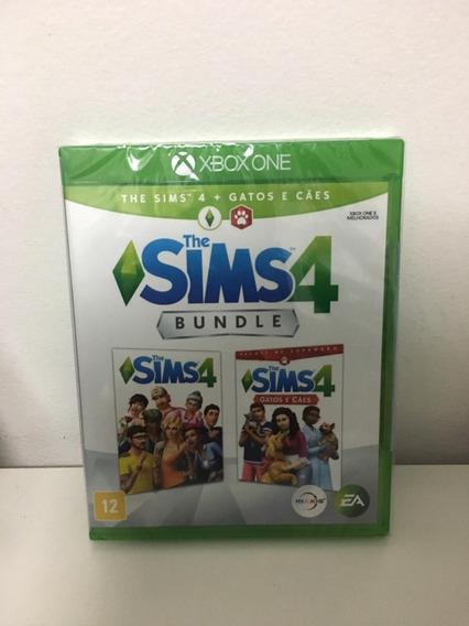 Jogo Xbox One Mídia Física - The Sims 4 Bundle Cães E Gatos