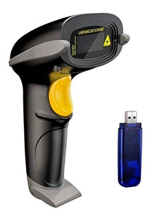 Leitor Código De Barras Scanner Sem Fio Wireless Portátil
