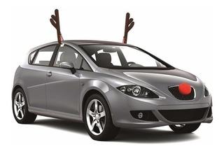 Cachitos Nariz Reno Navidad Disfraz Carro Cuernos Cachos