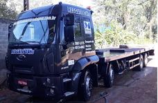 Caminhão Ford Cargo 2429 2013 Plataforma Hidráulica Bitruck