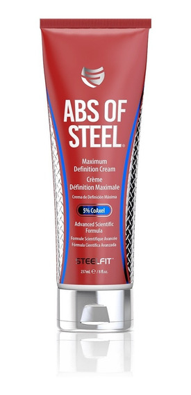 Abs Of Steel 8 Oz Crema Fit Abdomen Musculo Definicion