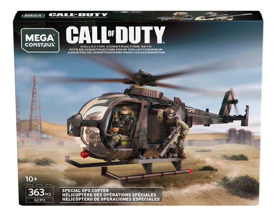 Mega Construx Call Of Duty Helicóptero