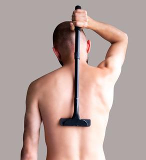 Afeitadora Y Depiladora De Espalda Para Hombres Con Repuesto