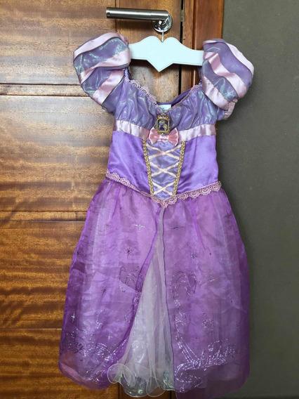 Disfraz Rapunzel Original Disney Store Talle 5/6