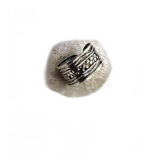 1 Piercing Falso Orelha Cartilagem Argola Prata 925