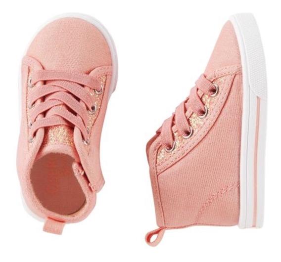 Zapatillas Sneakers Brillosas Talle 31 Osh Kosh