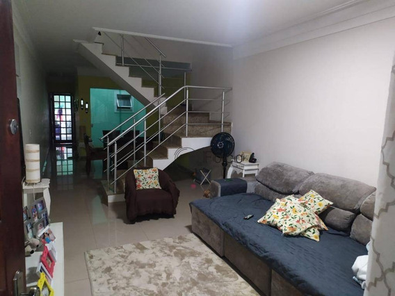 Sobrado 121m 3 Dorm, 1 Suite E 2 Vagas - Ca0877