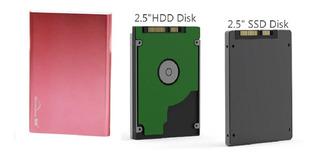 Caja Externa Dd Usb 3.1 Tipo C 2.5 Adaptador Hdd Ssd 3.0