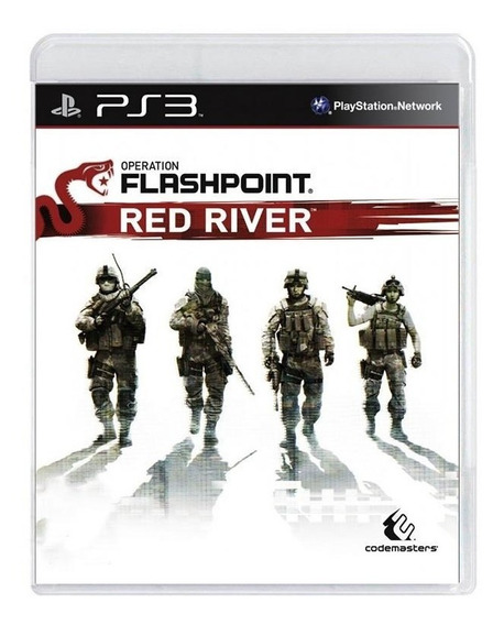 Operation Flashpoint Red River Ps3 Mídia Física