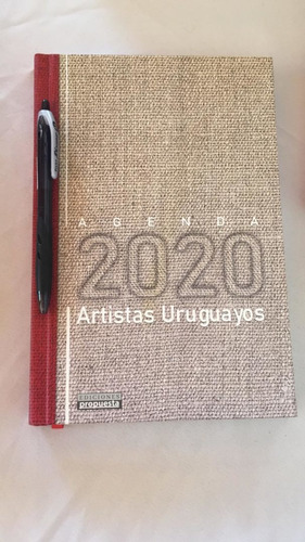 Imagen 1 de 1 de Agenda 2020 Artistas Uruguayos