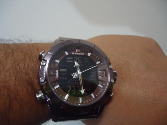 Relógio Naviforce Nf 9153 - Marrom