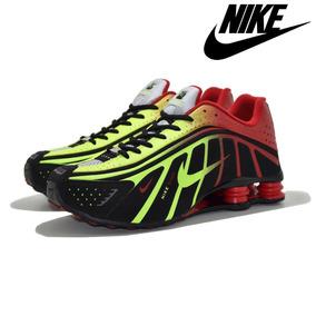 Tênis Nike Shox R4 Novos Na Caixa Neymar Menino Ney Original