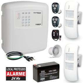 Kit Alarme Residencial Externo Discadora 2 Sensores Duplo