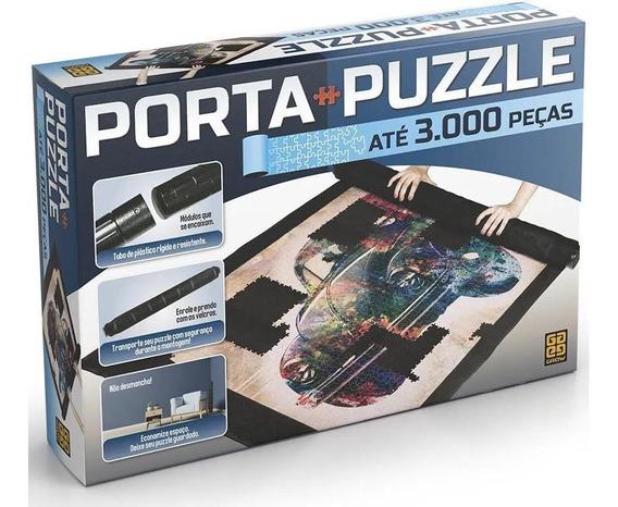 Porta Puzzle Quebra Cabeça Até 3000 Peças Grow 03604