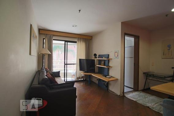 Apartamento No 5º Andar Mobiliado Com 1 Dormitório E 1 Garagem - Id: 892971467 - 271467
