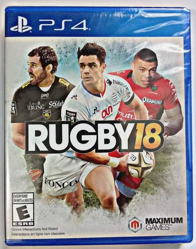 Imagen 1 de 10 de Rugby 18 Juego Ps4 Fisico Original/ Mipowerdestiny