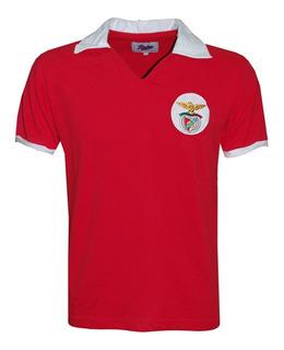 Camisa Retro Benfica De Portugal Década De 60 Ligaretro