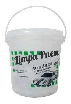 Imagem 1 de 1 de Limpa Pneu Gel Pretinho Chemicals Universal Balde 3,6 Kg