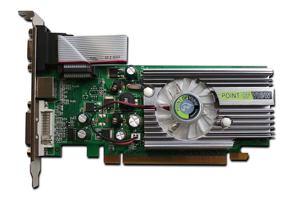 Placa De Video Nvidia Geforce 8400 Gs Pcie Point Of View